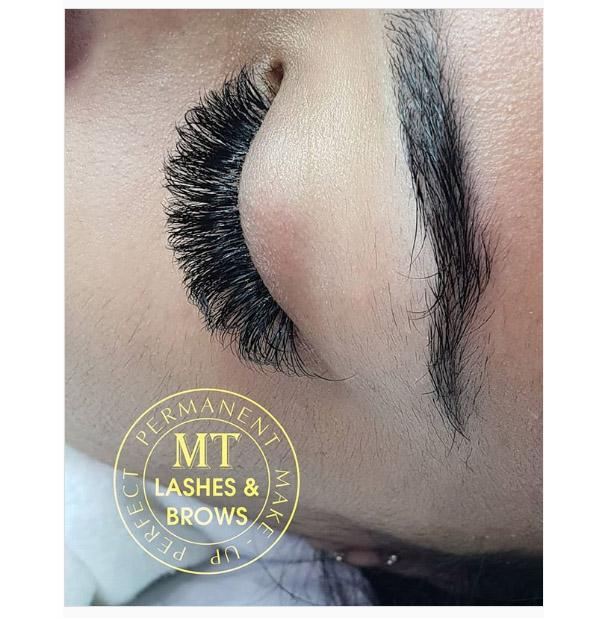 K volume eyelashe extension